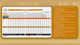 Score Card Old Course